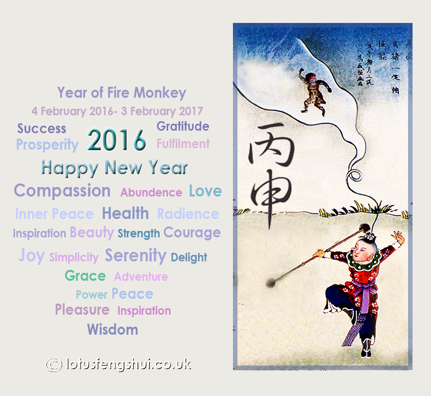 Happy New Year of Fire Monkey